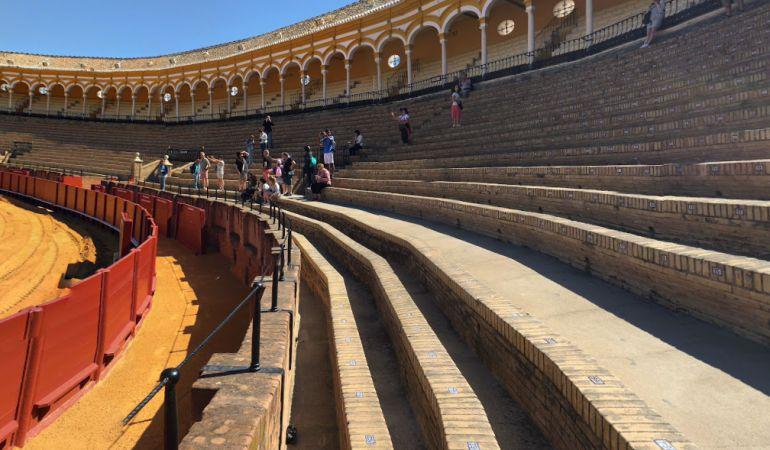 Las obras se centran en los tendidos 8 y 10 de la plaza de toros de Sevilla