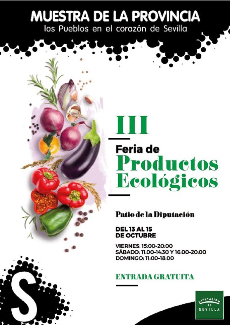 Hoy viernes comienza la III Feria de Productos Ecológicos de la Provincia: Comienza la III Feria de Productos Ecológicos de la Provincia