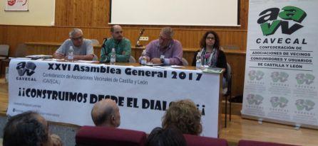 XXVI Asamblea General de la Confederación de Asociaciones de Vecinos Consumidores y Usuarios de Castilla y León
