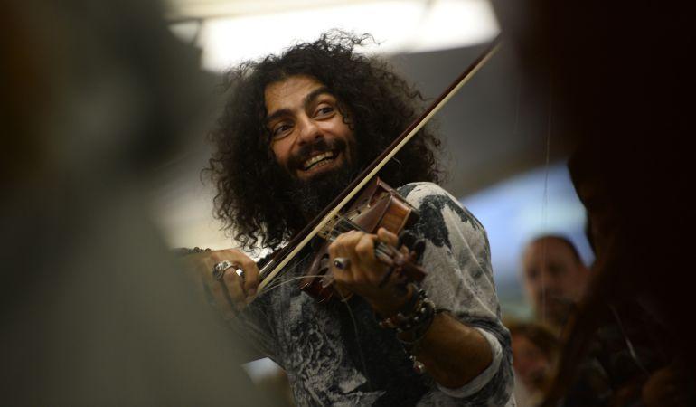 Ara Malikian vuelve a repasar la historia del violín en Getafe