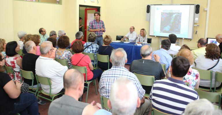 Presentación del proyecto de remodelación del Parque Bulevar 1º de mayo