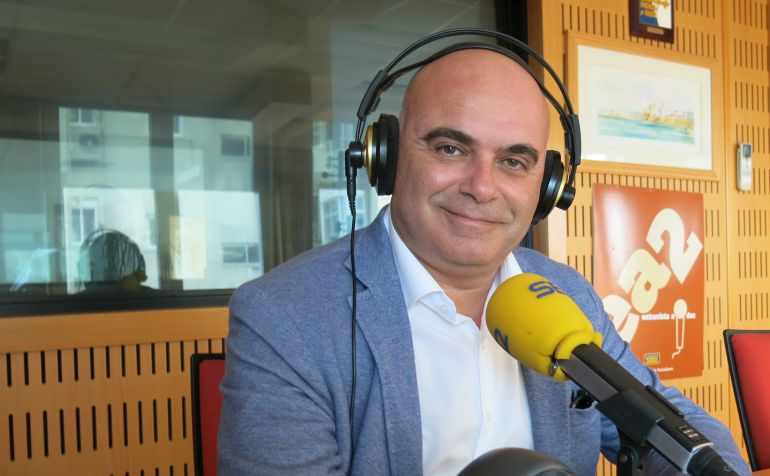 David Navarro, durante su entrevista en Radio Cádiz