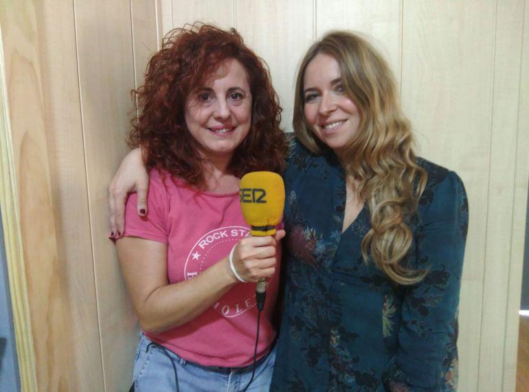 Patricia Chapela y Rocío Márquez