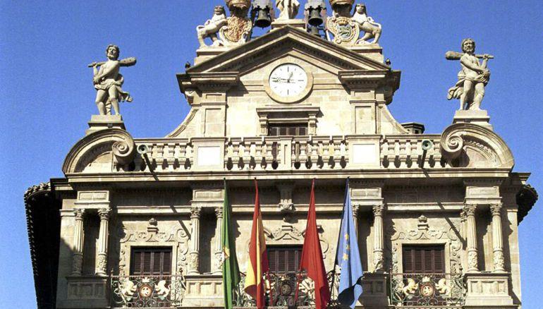 Fachada Ayuntamiento de Pamplona