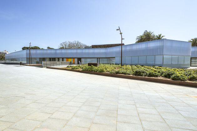 Imagen de la pérgola mirador el día de su apertura al público en abril de 2015