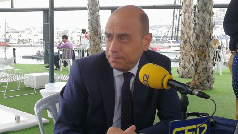 Gabriel Echávarri, este miércoles en los micrófonos de Hoy por Hoy Alicante