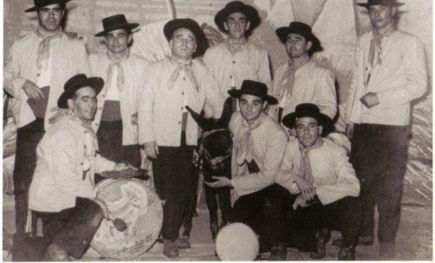 Los Pajeros, comparsa de Paco Alba de 1960