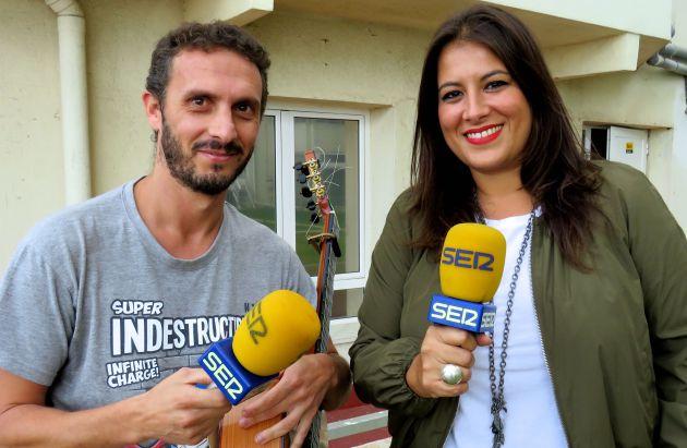 Pablo Gallardo y Milián Oneto, colaboradores del programa SER por Cuatro