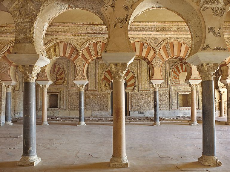 Panorámica del Salón Rico de Medina Azahara