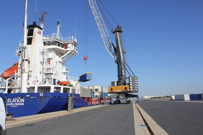 El Puerto de Huelva aspira a ser el principal nodo logístico del suroeste de la Península Ibérica