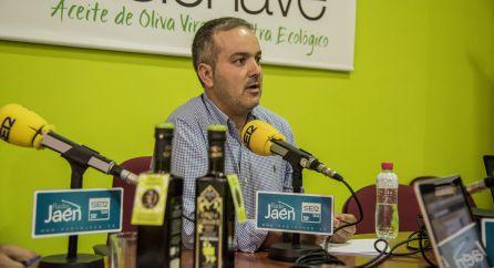 Adolfo Sánchez, presidente de la cooperativa 'Sierra de Génave'.