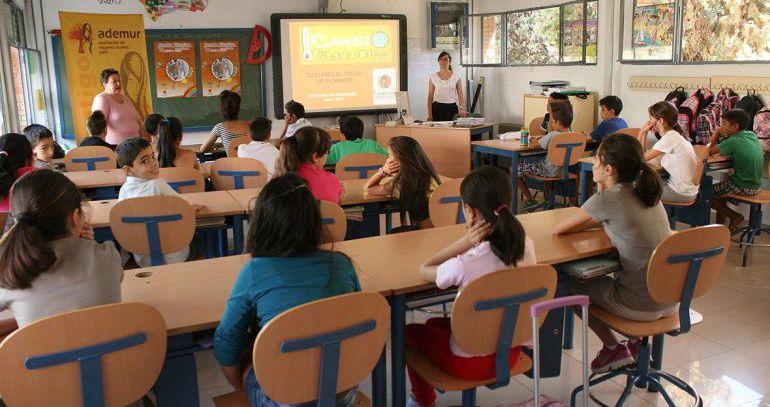 Sindicatos denuncian que la educación pierde peso en los presupuestos vascos