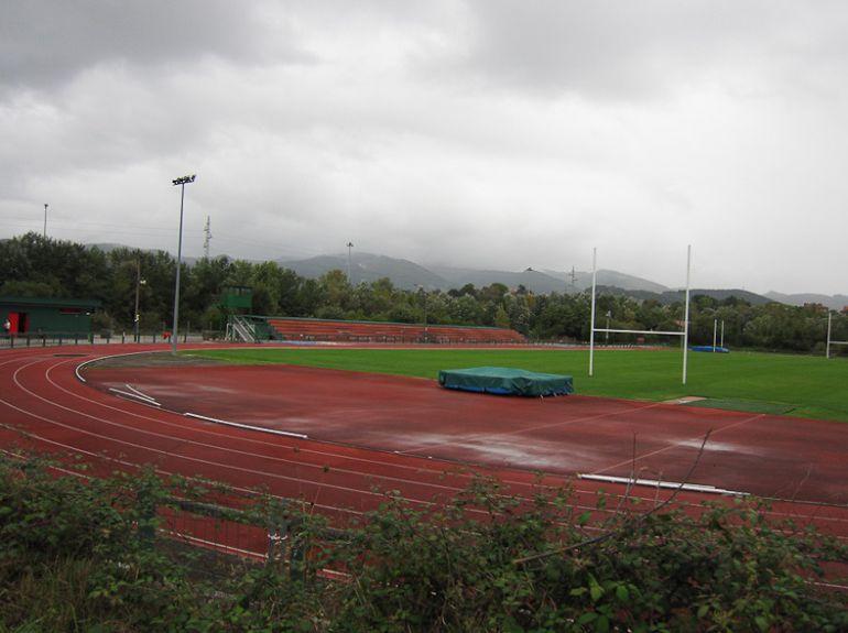 Las pistas de las instlalaciones deportivas de Plaiaundi en Irún