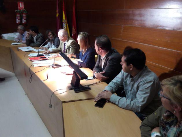 La mesa municipal que ha anunciado el fallo del jurado