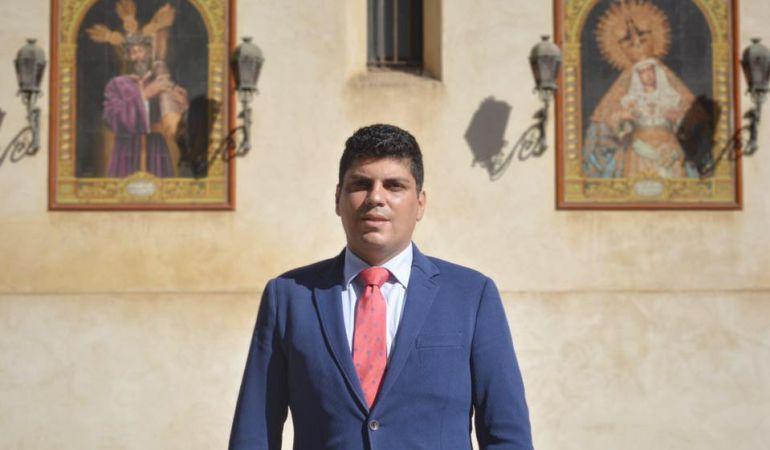 Carlos de Paz en la foto oficial de su malograda candidatura