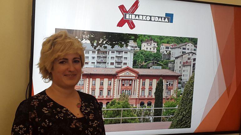 Ana Tellería, nueva responsable municipal de Hacienda