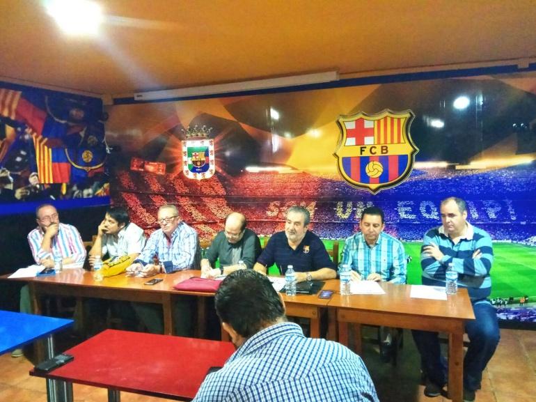 La federación jiennense de peñas del FC Barcelona se reunieron de forma extraordinaria ante la politización del club