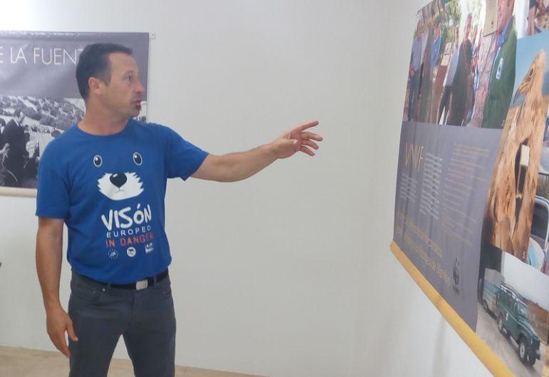 El ribereño Juan José Molina es el comisario de esta exposición