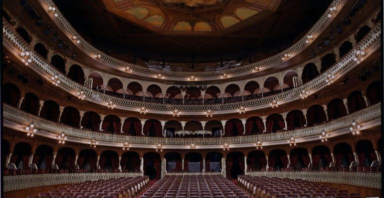 Interior del Gran Teatro Falla de Cádiz
