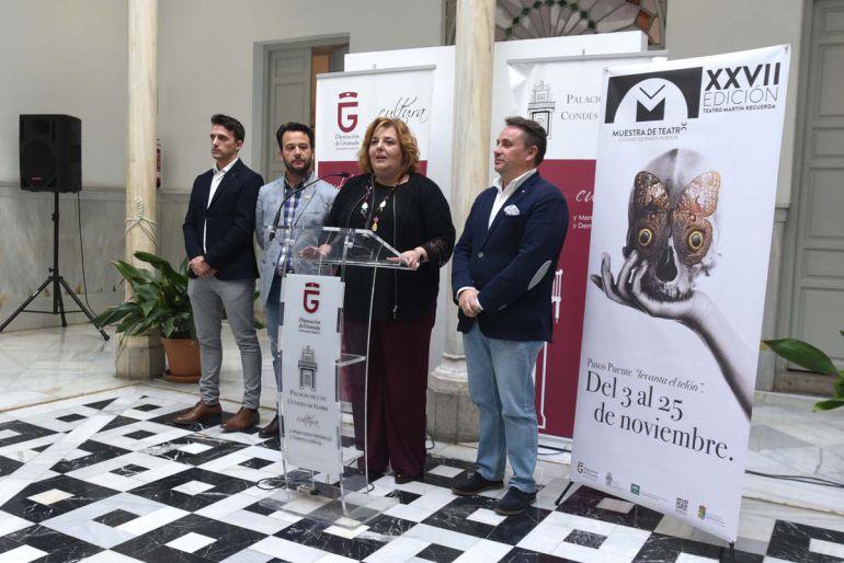 Presentación de la Muestra de Teatro de Pinos Puente (Granada)
