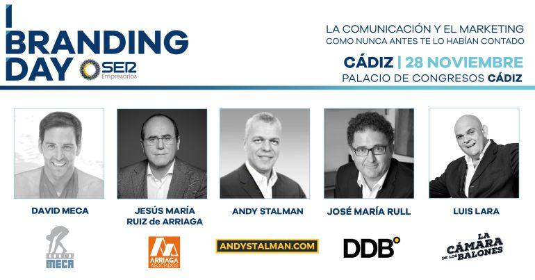 El I Branding Day de Cádiz se celebrará el 28 de noviembre en el Palacio de Congresos