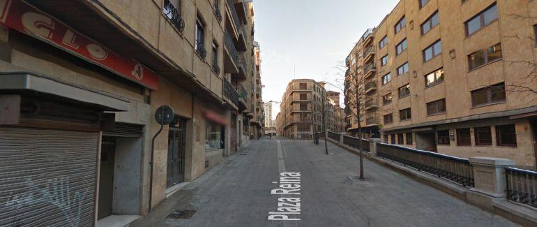 Google Maps. La Plaza de la Reina de la ciudad, una de las más frecuentadas por los jóvenes al término de cada noche de fiesta.