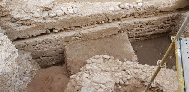 Granada: Aparece una nueva puerta zirí y restos romanos e íberos en las murallas del Albaicín