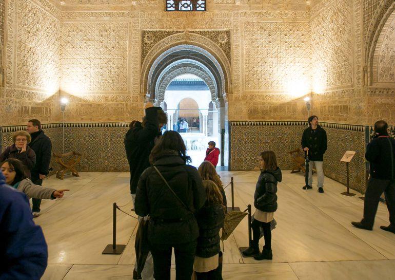 Visitas familiares a la Alhambra