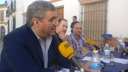 Francisco Javier Pérez, Sebastián Fernández y José Infante