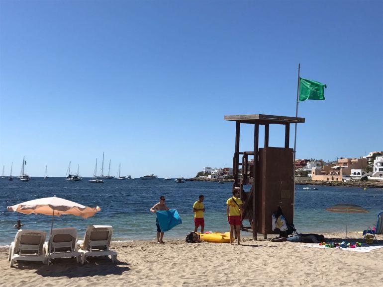 Imagen de la playa de Talamanca