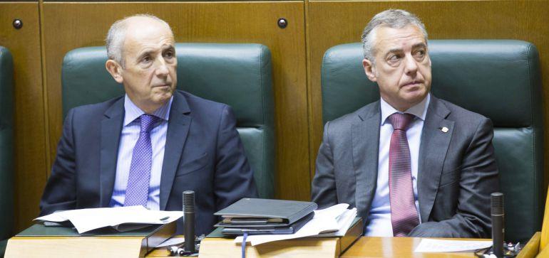 El Gobierno vasco no reconoce la república catalana: El Gobierno vasco no reconoce la república catalana