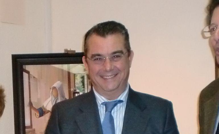 Moresco en una recepción