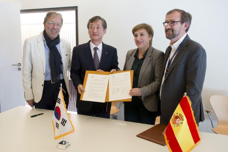 Acuerdo de colaboración entre el Parque de las Ciencias de Granada y Corea del Sur