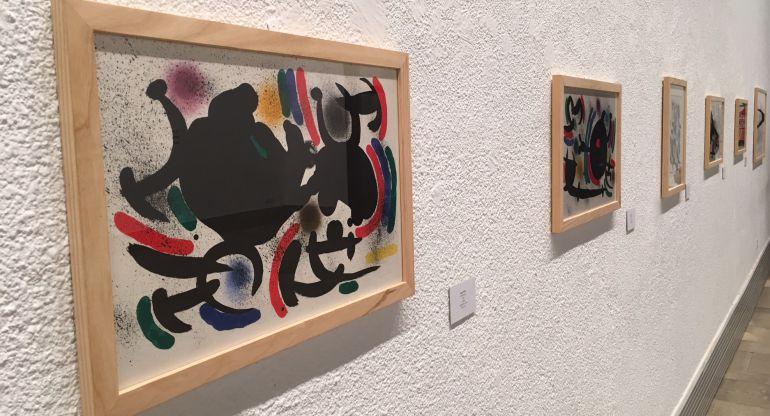 Imagen de la exposición de Joan Miró