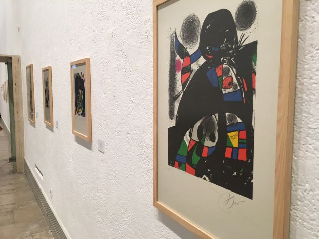 El arte surrealista de Joan Miró en Valladolid