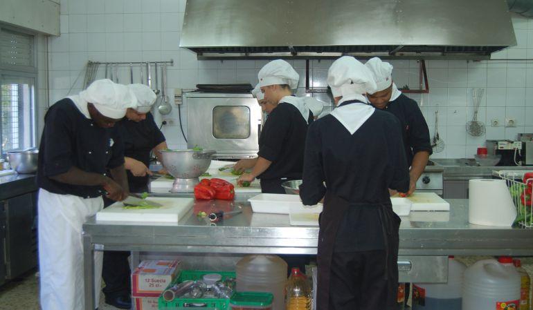 Uno de los talleres de cocina
