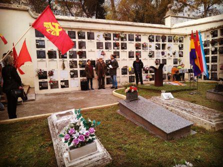Homenaje a comunistas asesinados por el franquismo
