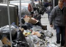 Comienza la huelga de recogida de basuras en Madrid