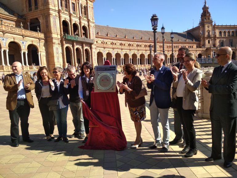 La plaza de España elegida Tesoro de la Cultura cinematográfica