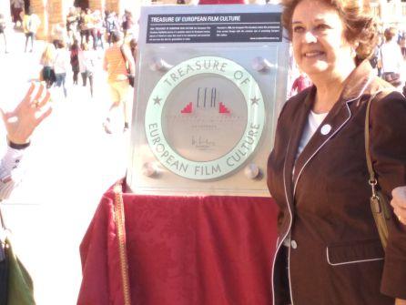 La Plaza de España nombrada oficialmente como 'un lugar de cine'