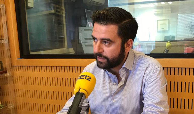 Fran González, durante su entrevista en Radio Cádiz