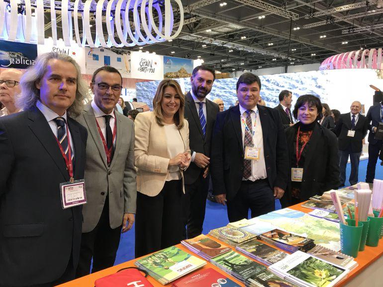 Huelva exhibe sus productos turísticos en Londres para fidelizar al viajero británico: Huelva exhibe sus productos turísticos en Londres para fidelizar al viajero británico