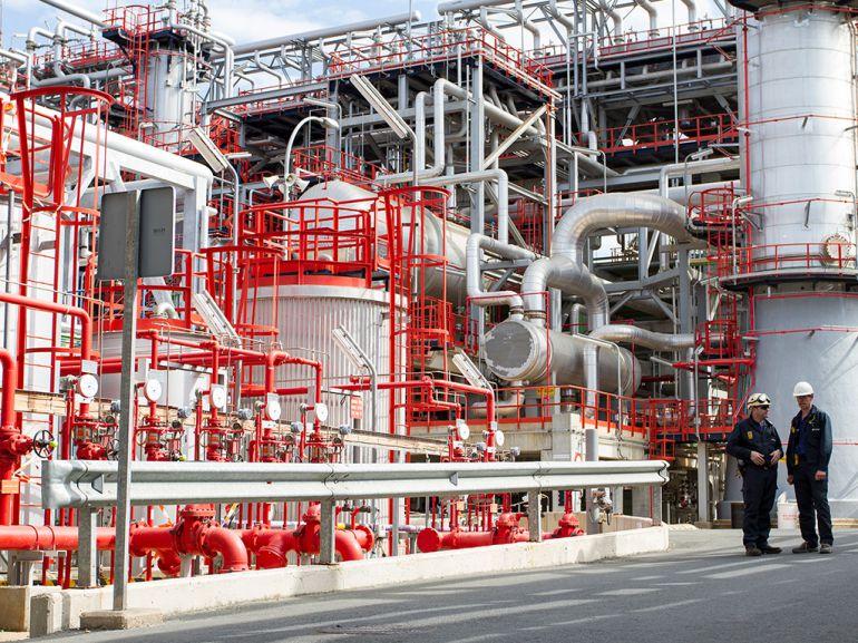 Cepsa invertirá 160 millones de euros en la refinería de La Rábida: Cepsa invertirá 160 millones de euros en la refinería de La Rábida