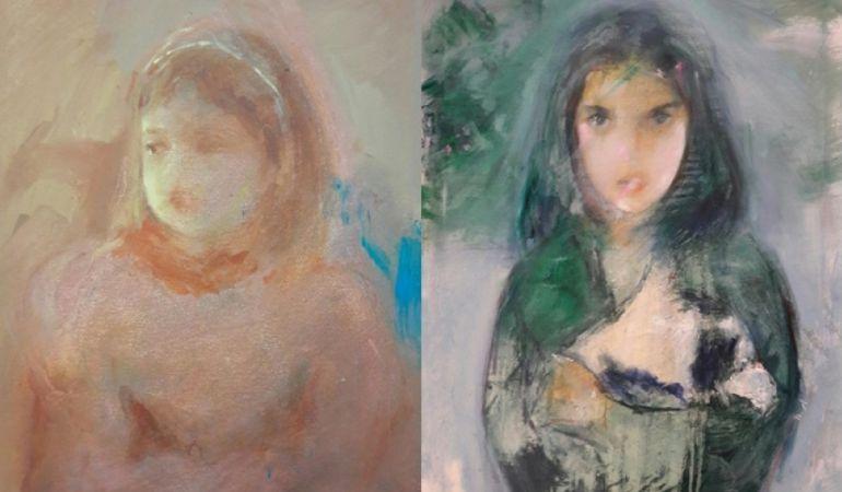 Fiz Domínguez expondrá su obra 'El paso del tiempo' en la Agora Gallery con algunos retratos de sus hijas