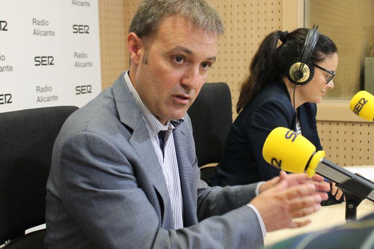 Natxo Bellido, este martes, en Hoy por Hoy Alicante