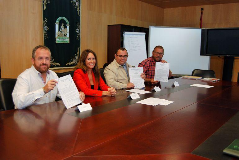 Firma del convenio del metal de Cádiz