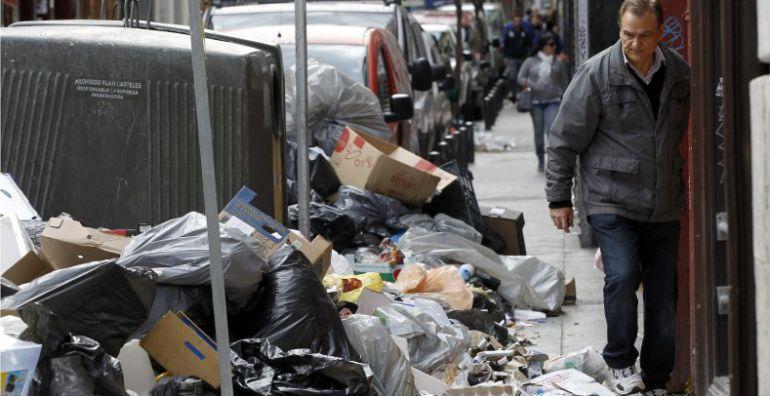 Huelga basuras Madrid: Desconvocada la huelga de basuras en la capital