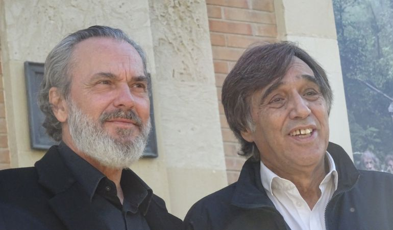 José Coronado junto a Agustín Díaz Yanes
