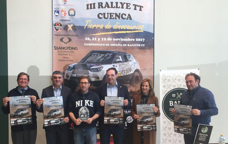 """Recorrido con muchas novedades para el Rallye de Cuenca """"Tierra de Dinosaurios"""""""