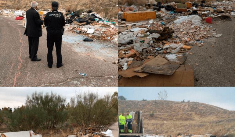 Escombreras ilegales de Arroyomolinos